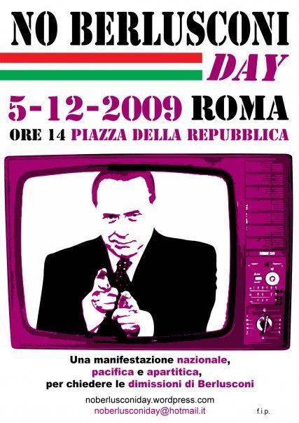 No Berlusconi Day - 5 dicembre 2009