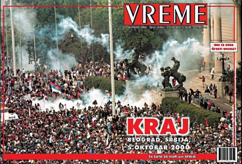 5 oktobar 2000 - Ostavka!